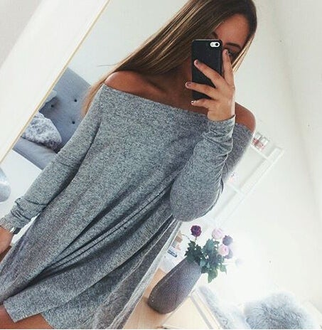 Image of HOT CUTE OFF SHOULDER DRESS  HIGH QUALITY