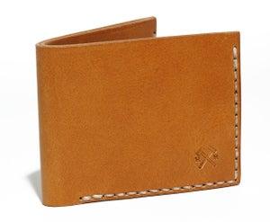 Image of Slim Wallet in Tan