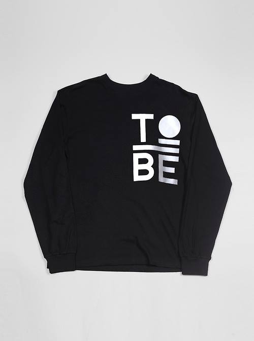 Image of Logo Black L/S T-Shirt