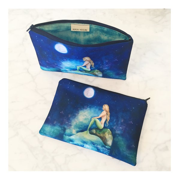 Image of Mermaid 8 Zip Clutch