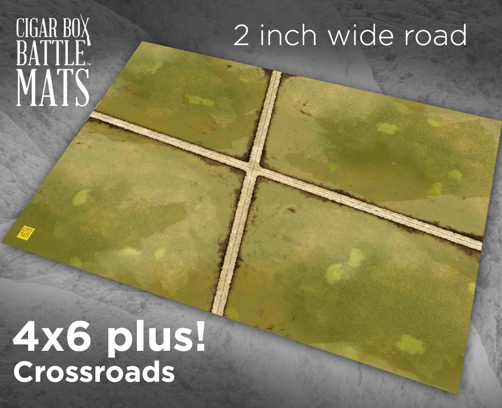 Image of Crossroads -- 2 inch road -- #185