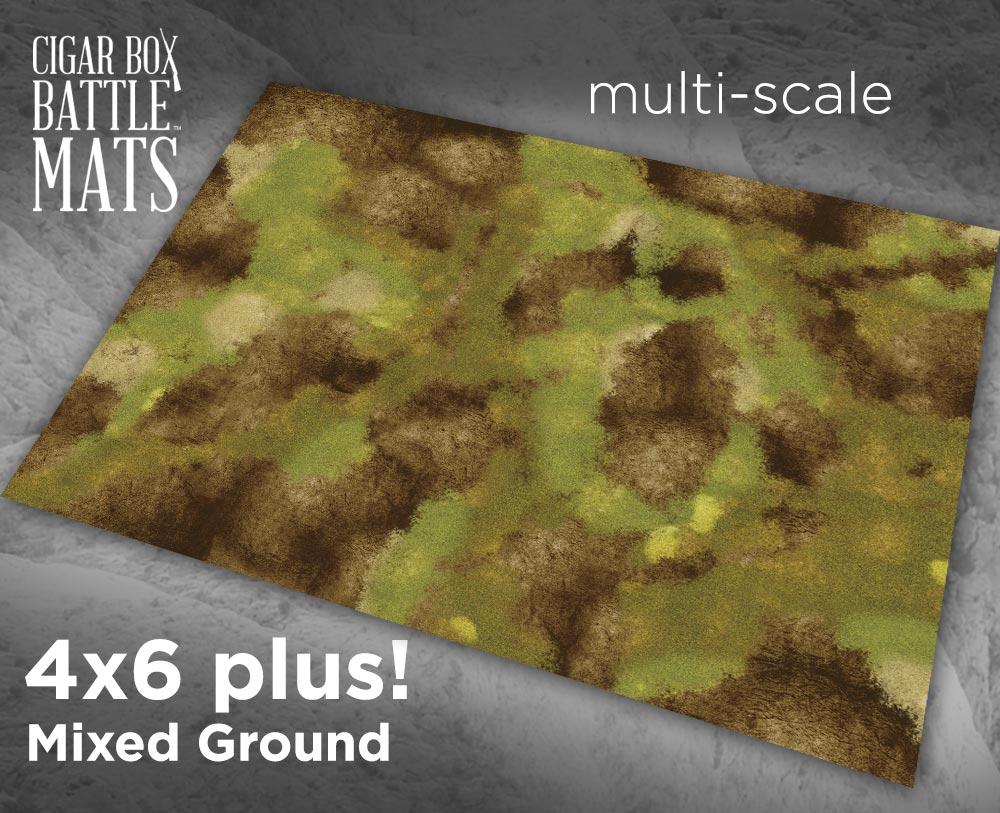 Image of Mixed Ground -- 4x6 plus -- #240