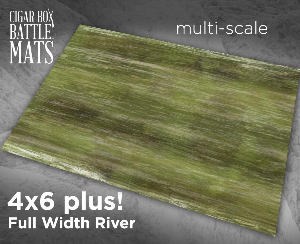 Image of Full River -- 4x6 plus -- #230