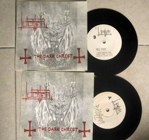 "Image of LUCIFER ""The Dark Christ"" 7"" EP"