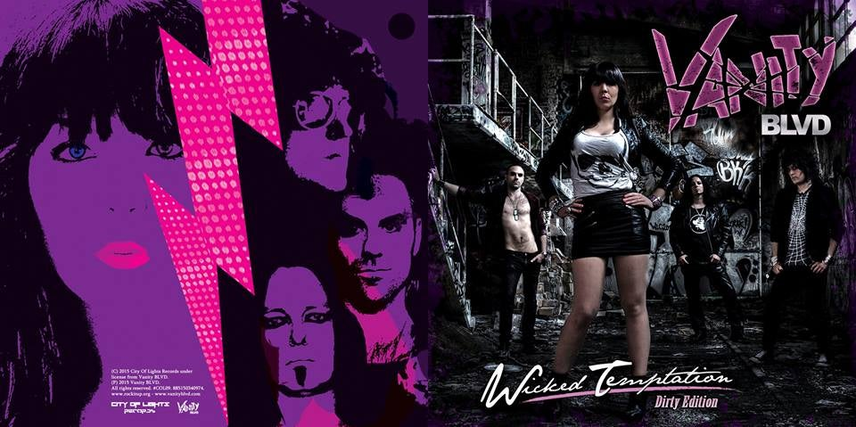 """Image of Wicked Temptation """"Dirty Edition"""" Album/CD"""
