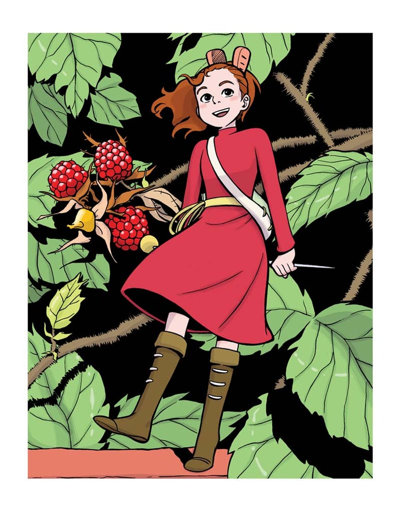 """Image of """"Arrietty"""" Print by Natalie Nourigat"""