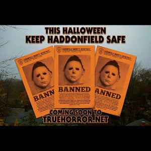 Image of Ordinance 103178 : Keep Haddonfield Safe print (orange variant)