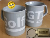 Image of golfgti.co.uk mug and keyring combo