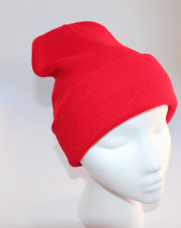 Image of Red Beanie