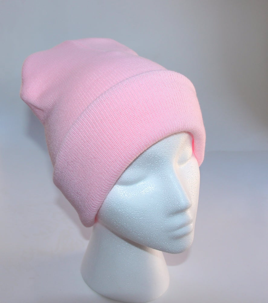 Image of Pink Beanie