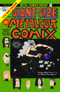 Image of GIANT-SIZE METALCULT COMIX #1 1ST PRINT