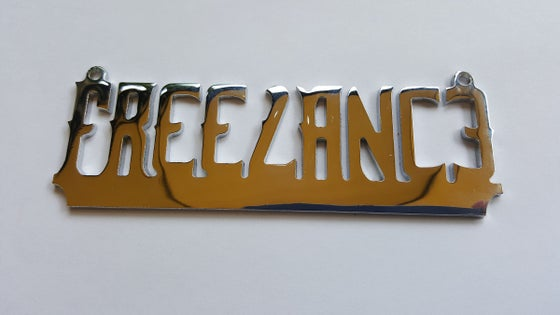 Image of TRIPLE CHROME FREELANCE LOWRIDER PENDANT