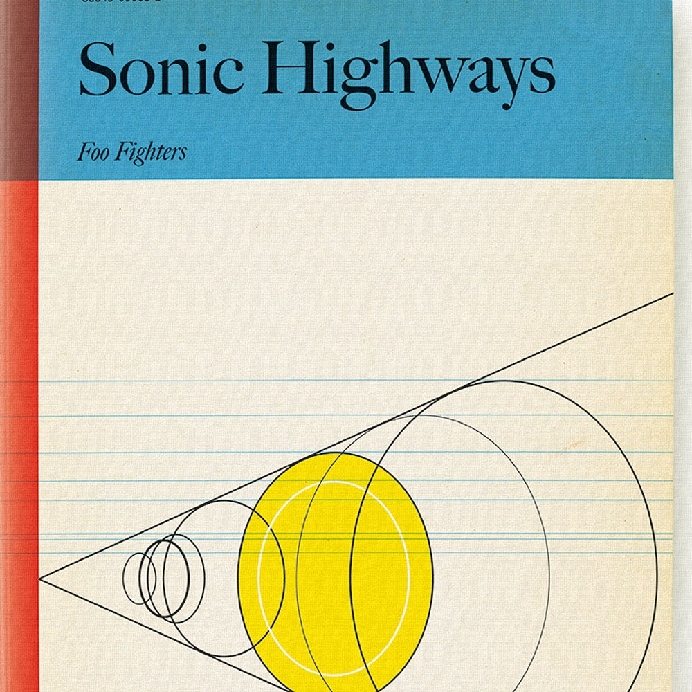 Image of Sonic Highways • Art Print
