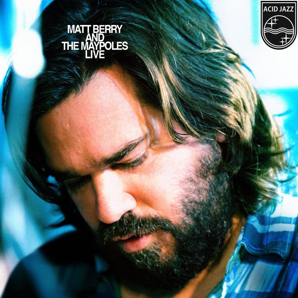 Image of Matt Berry & The Maypoles Live - LP Album - Blue Gatefold Vinyl