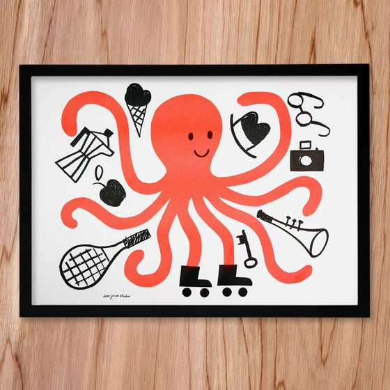 Image of Risograph | Octopus