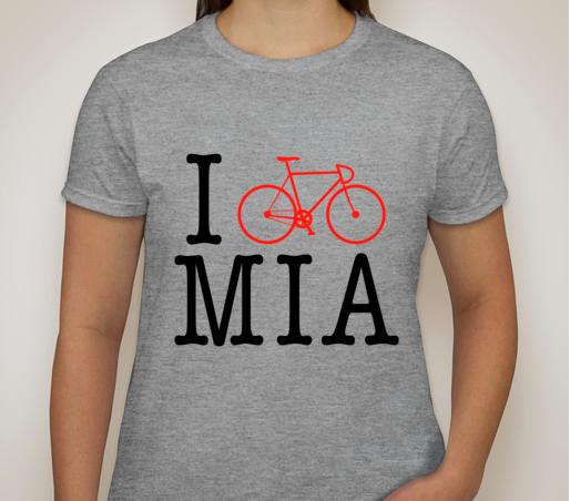 "Image of ""I Bike MIA"" Women's Tee"
