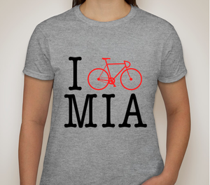 "Image of ""I Bike MIA"" Women's Tee"