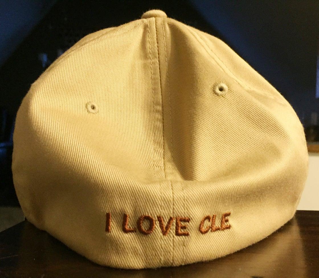 Image of Cleveland Ohio Hat Beige