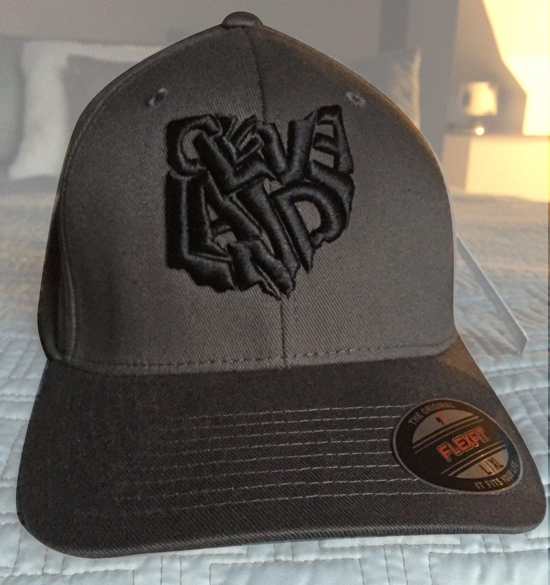 Image of Cleveland Ohio Hat Grey