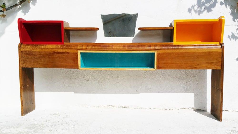 Image of Cosy étagère tricolore - Vintage