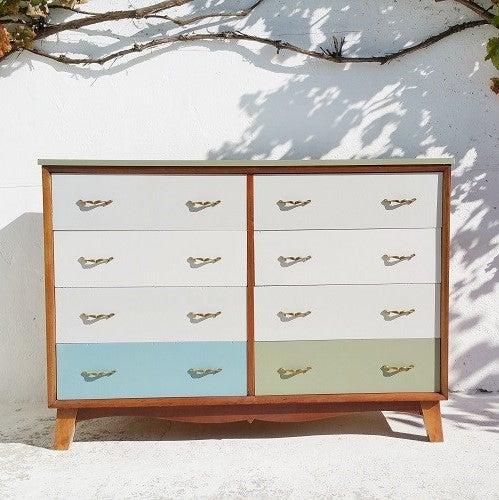 Image of Commode huit tiroirs - Vintage