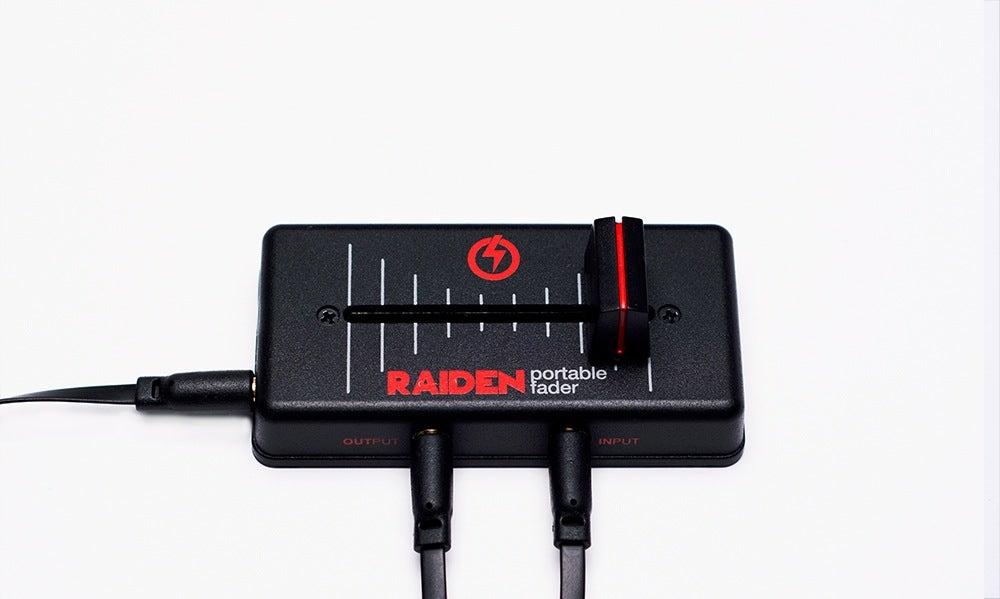 Image of Raiden Fader VVT-MK1 - BLACK/RED