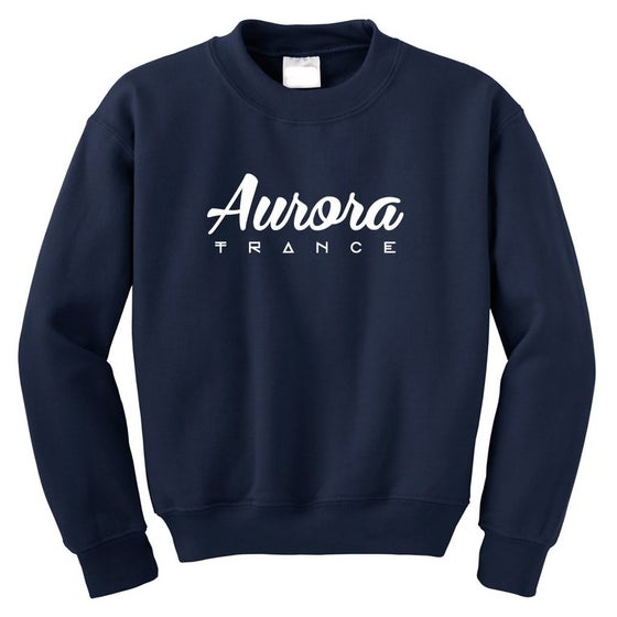Image of Navy original logo sweatshirt