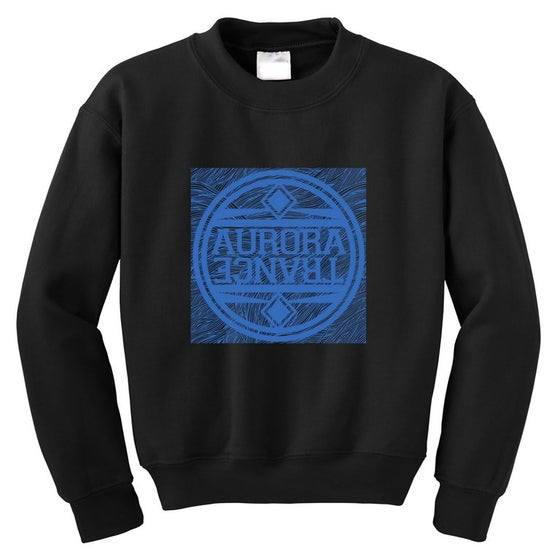 Image of Black waves sweatshirt