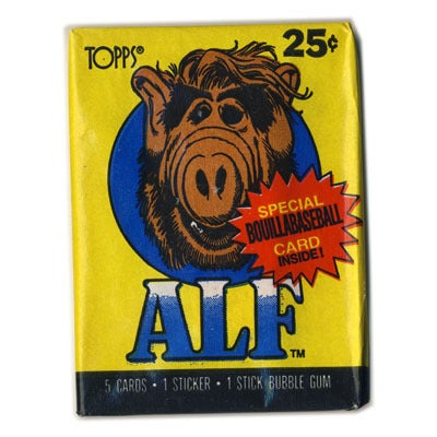 Image of ALF (ALIEN LIFE FORM) TRADING CARDS -1987