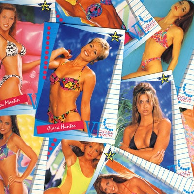 Image of SWIMWEAR MODEL VENUS SEARCH SEXY TRADING CARDS 90s