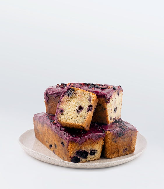 Image of Blueberry Loaf