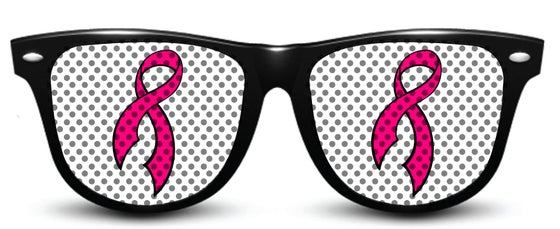 Image of My Custom Specks Cancer Awareness Sunglasses