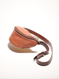 Image of #OverThePeak Perfored leather Banana
