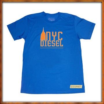 Image of NYC Diesel Clone G1 Blue and Orange