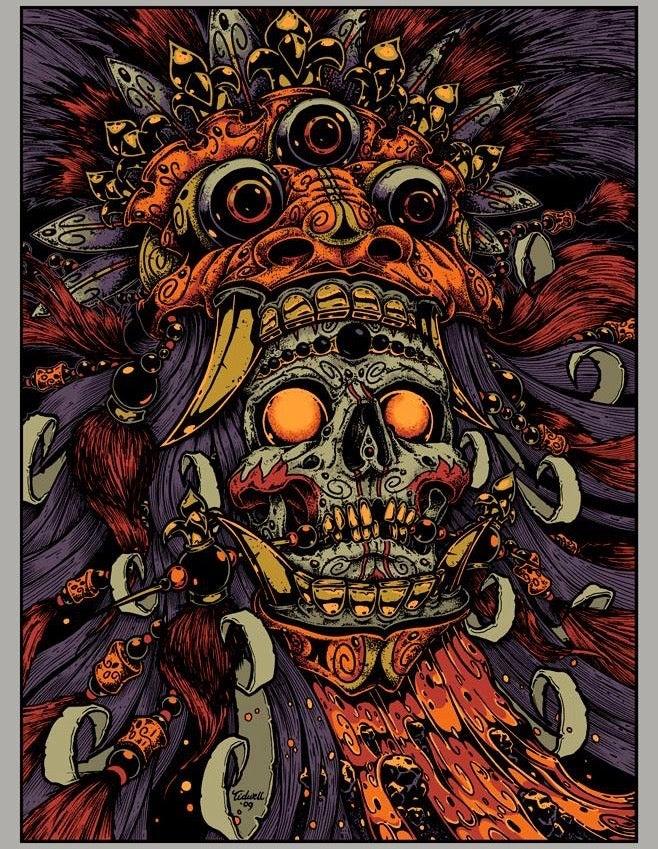 Image of Indonesia • Art Print