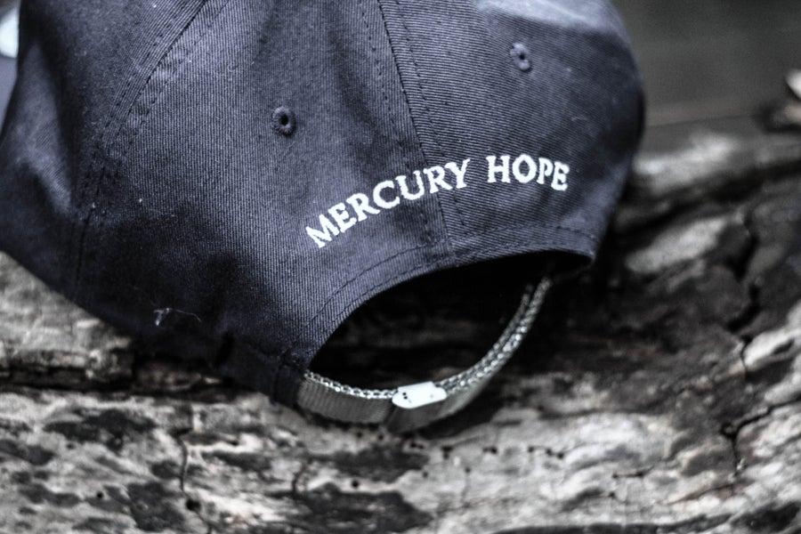 Image of Navy Signature Mercury Hope SnapBack Silver