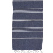 Image of Hammamas Turkish Towel (Navy)