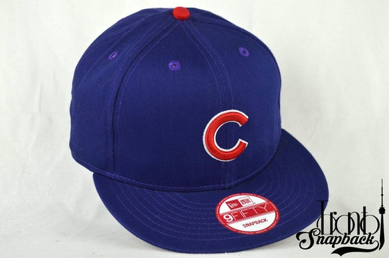 Image of CHICAGO CUBS BLUE NEW ERA 950 SNAPBACK