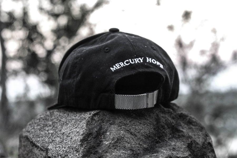 Image of Black Signature Mercury Hope SnapBack Silver