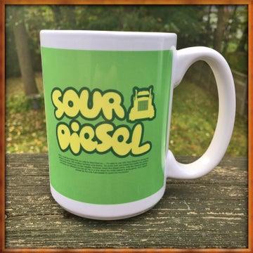 Image of Sour Diesel Tree Mug