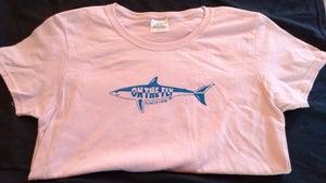 Image of Ladies T shirt lt pink
