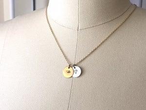 Image of Diamond & Eye Necklace