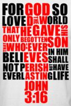 Image of John 3:16 Tee