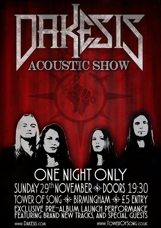 Image of Dakesis Exclusive Acoustic Show at The Tower of Song