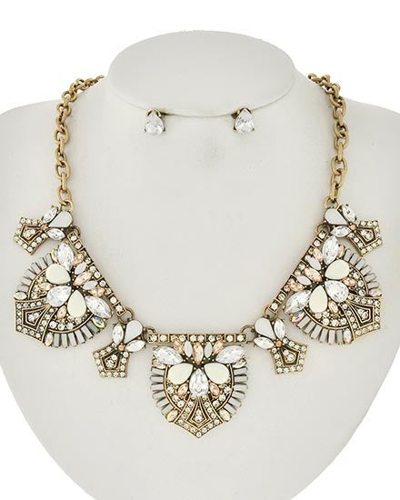 Image of Saville Gold Tone Necklace