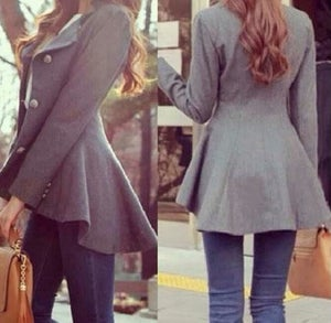 Image of FASHION IRREGULAR CUTE COATS