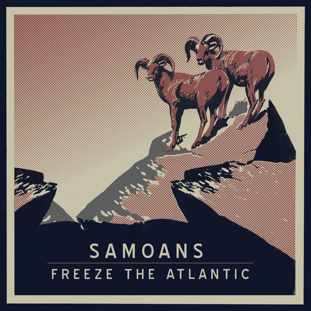 Image of Samoans/Freeze the Atlantic (Split EP) - CD