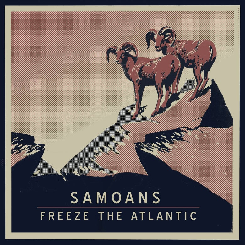 Image of Samoans/Freeze the Atlantic (Split EP) - CD