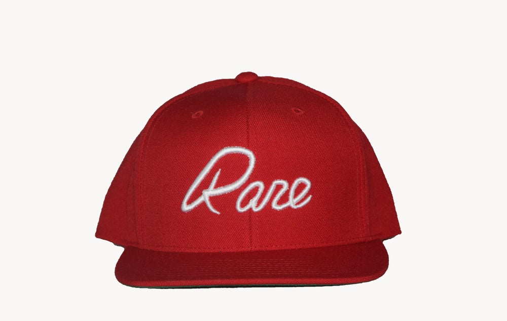 Image of G.T.E. Snapback (Red)