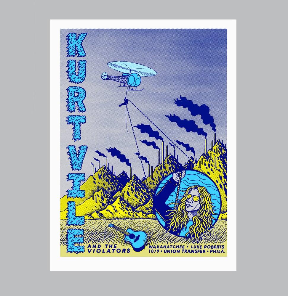 Image of Kurt Vile - 10/9/15 - Union Transfer